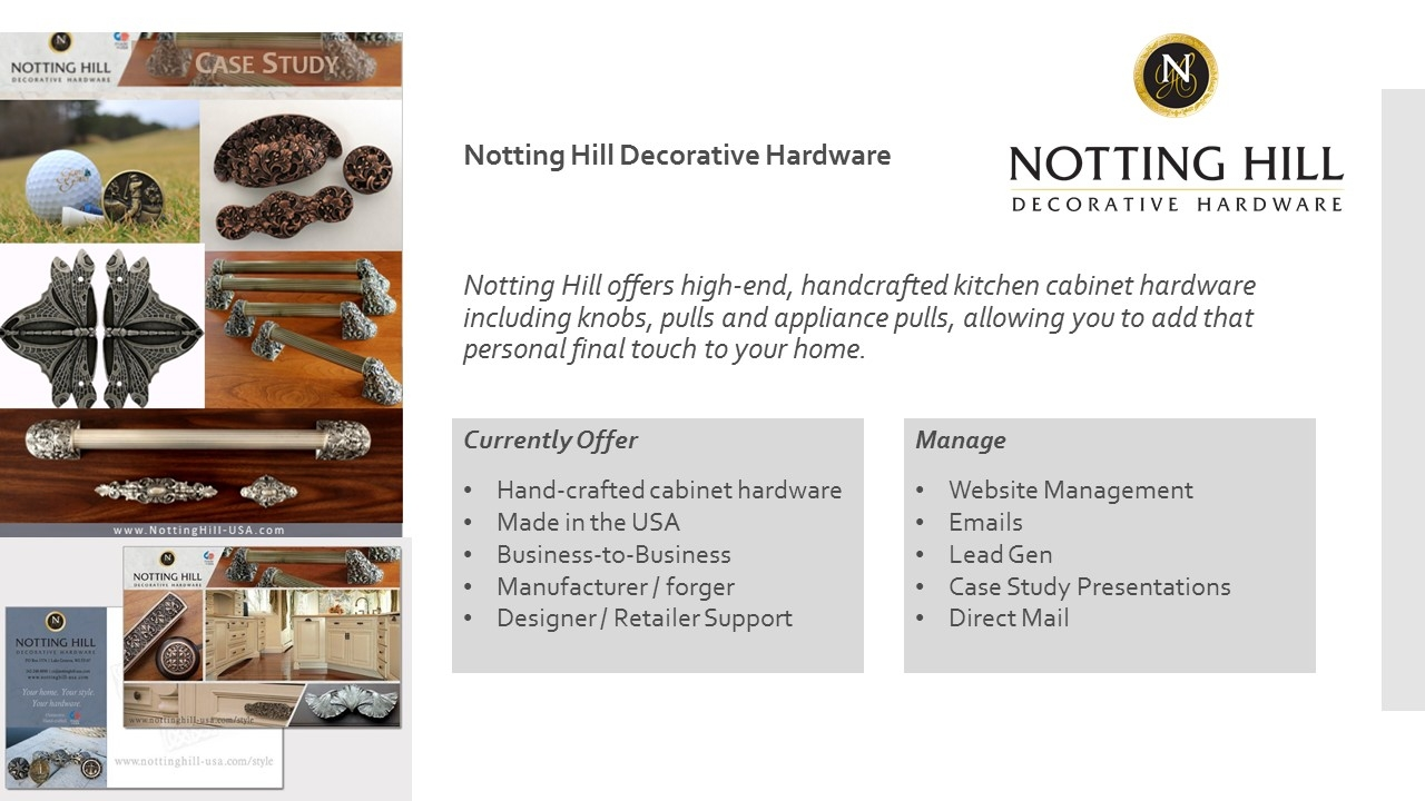 Notting Hill Decorative Hardware
